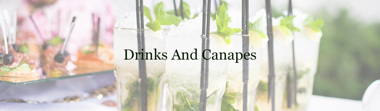drinks and canapes, Wedding Catering in Dorset and Dorchester