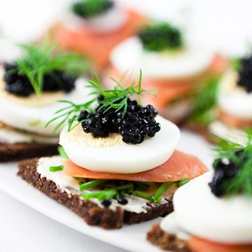 canapes, Wedding Catering in Dorset and Dorchester